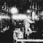 1936年(昭和11年)頃の機械工場